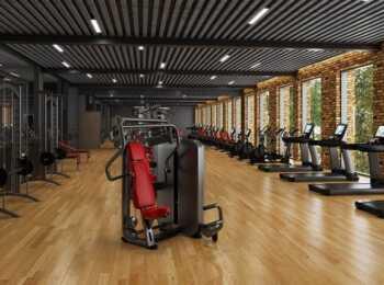 Фитнес-клуб для жителей клубного дома